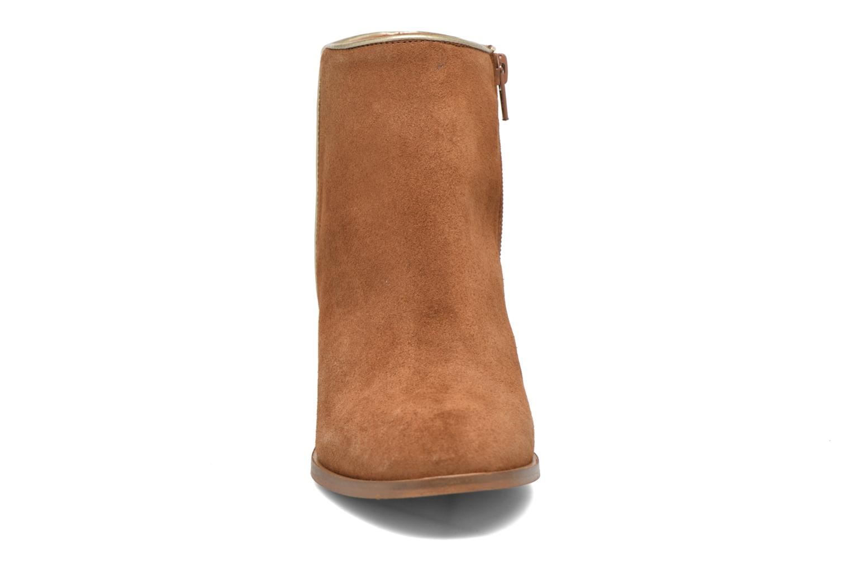 Bottines et boots COSMOPARIS Vimia/Vel Marron vue portées chaussures