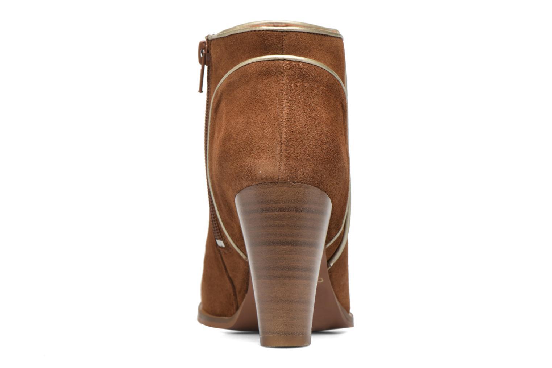 Bottines et boots COSMOPARIS Vimia/Vel Marron vue droite