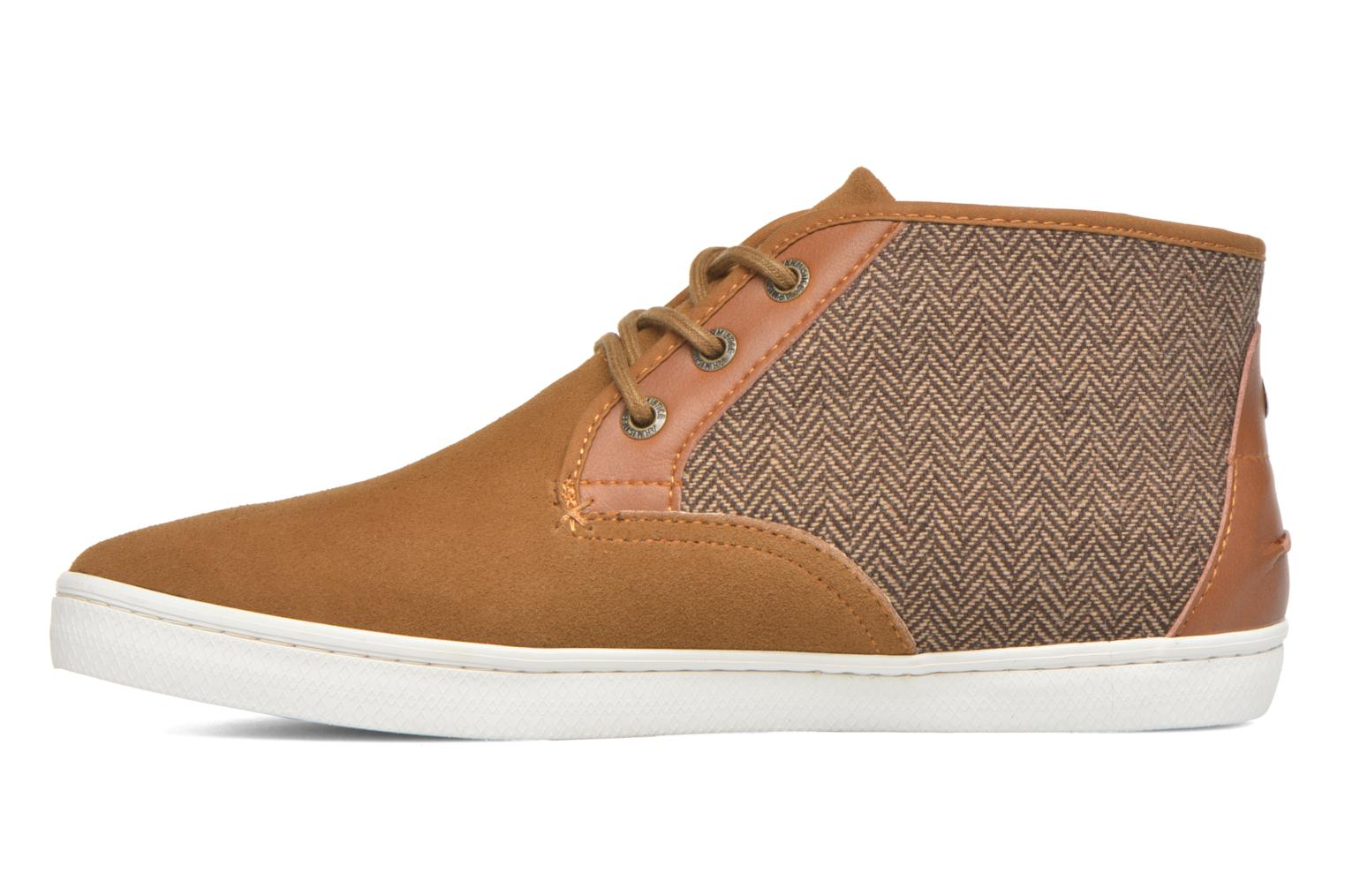 Baskets Armistice Drone Mid Suede/suit Marron vue face