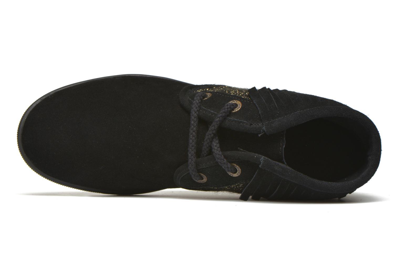 Chaussures à lacets Armistice Stone Hawk Suede/Woodgloss Noir vue gauche