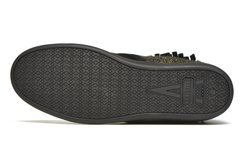 Chaussures à lacets Armistice Stone Hawk Suede/Woodgloss Noir vue haut