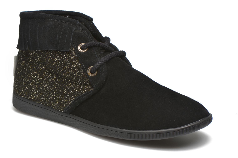 Chaussures à lacets Armistice Stone Hawk Suede/Woodgloss Noir vue détail/paire
