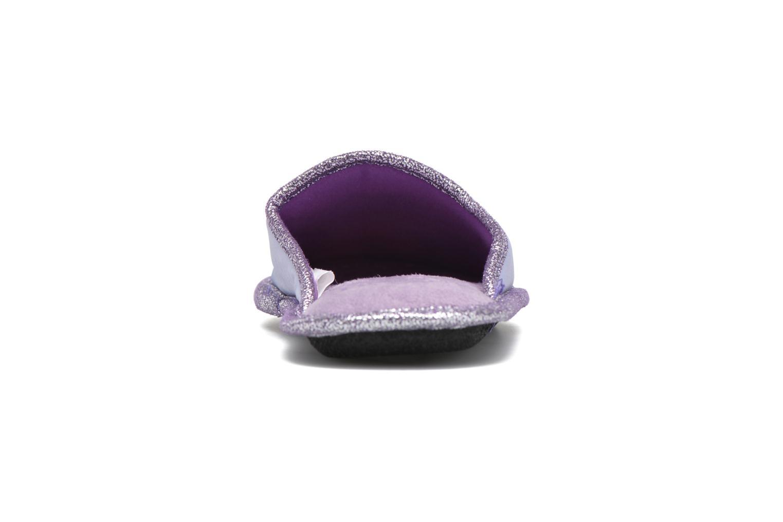 Chaussons Frozen Safouan Frozen Violet vue droite