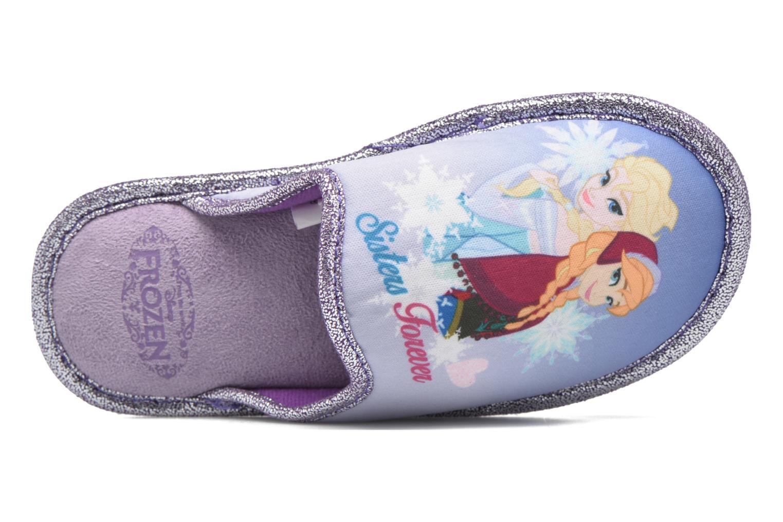 Chaussons Frozen Safouan Frozen Violet vue gauche