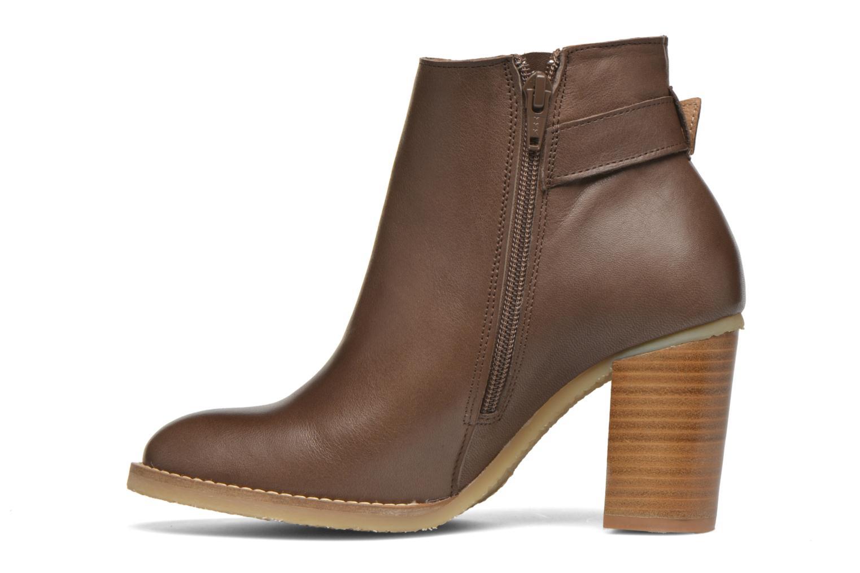 Bottines et boots Georgia Rose Acrepe Marron vue face