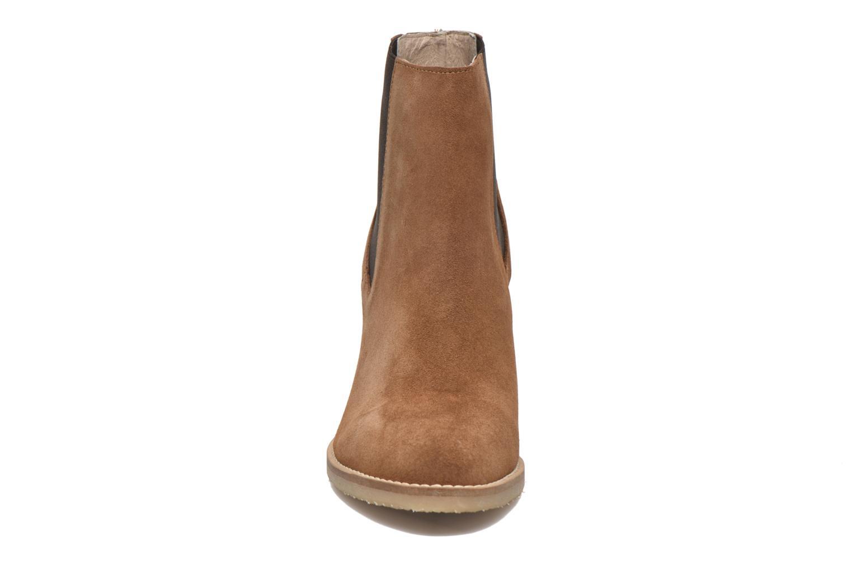 Bottines et boots Georgia Rose Atiag Marron vue portées chaussures