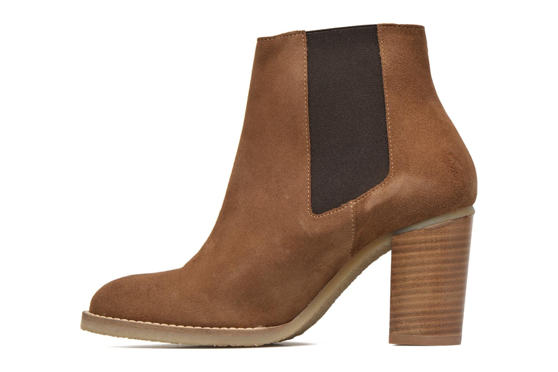 Bottines et boots Georgia Rose Atiag Marron vue face