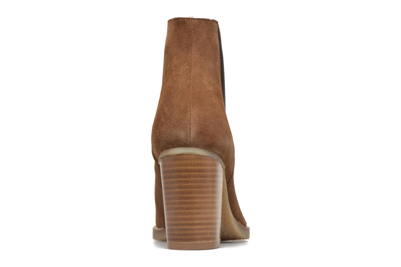 Bottines et boots Georgia Rose Atiag Marron vue droite