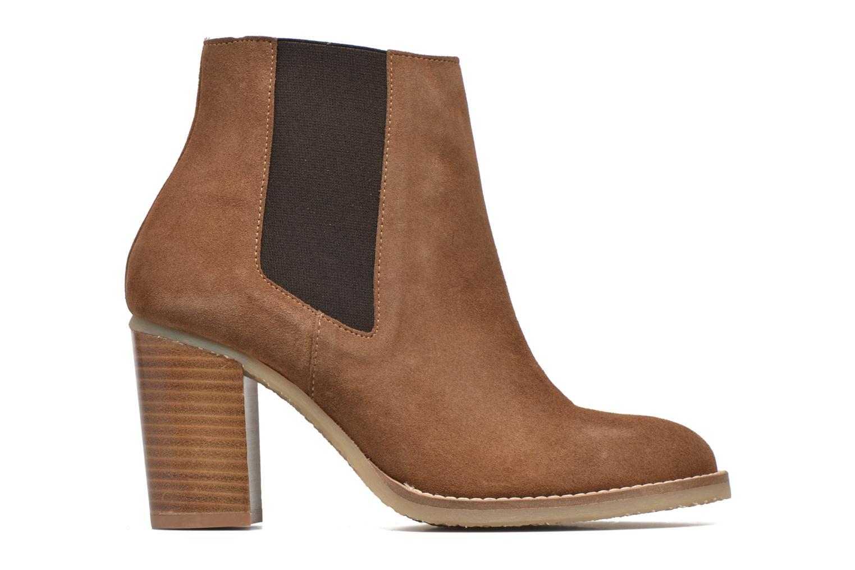 Bottines et boots Georgia Rose Atiag Marron vue derrière