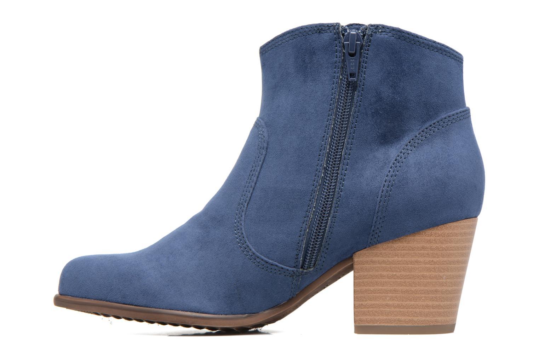 Bottines et boots S.Oliver Badda Bleu vue face