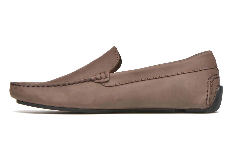 Loafers Lacoste Piloter 316 1 Brun bild från framsidan