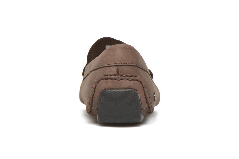 Loafers Lacoste Piloter 316 1 Brun Bild från höger sidan