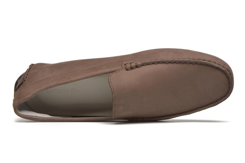 Loafers Lacoste Piloter 316 1 Brun bild från vänster sidan