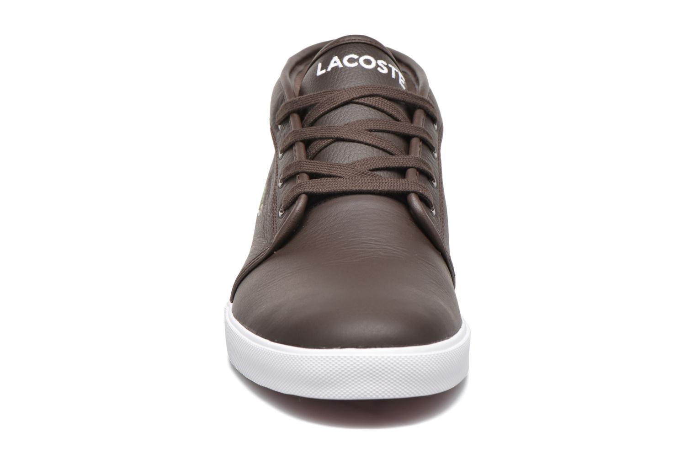 Baskets Lacoste Ampthill Lcr3 Marron vue portées chaussures