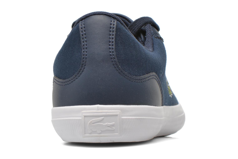 Baskets Lacoste Lerond 316 1 Bleu vue droite