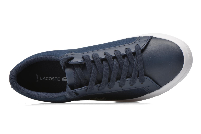 Baskets Lacoste Lerond 316 1 Bleu vue gauche
