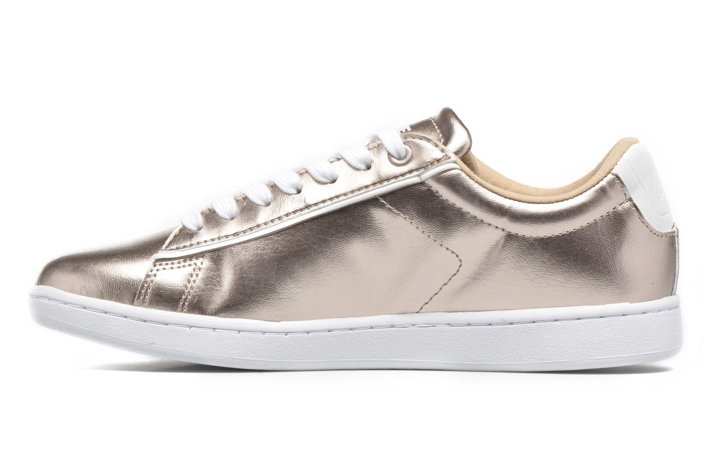 Sneaker Lacoste Carnaby Evo 316 2 gold/bronze ansicht von vorne