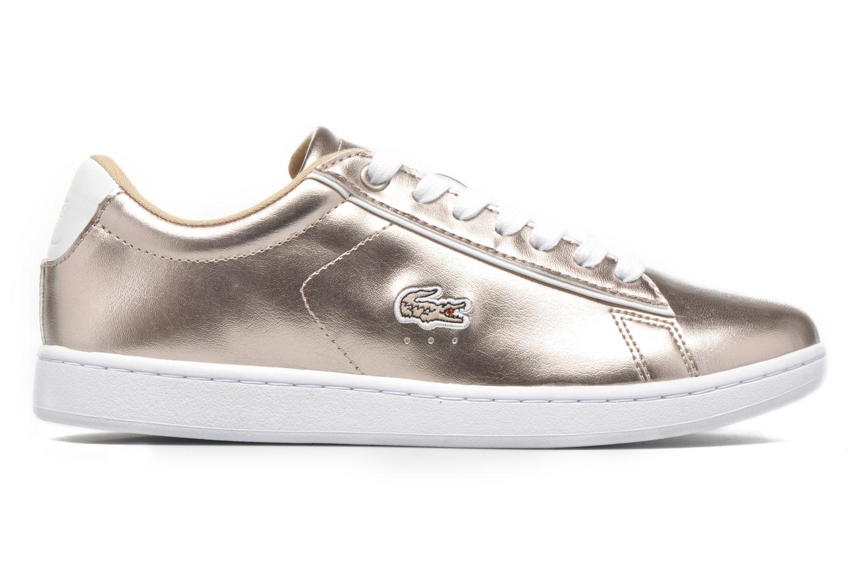 Sneaker Lacoste Carnaby Evo 316 2 gold/bronze ansicht von hinten