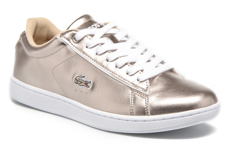 Sneaker Lacoste Carnaby Evo 316 2 gold/bronze detaillierte ansicht/modell
