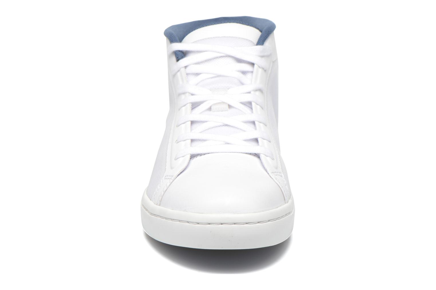 Baskets Lacoste Straightset Chukka 316 2 Blanc vue portées chaussures