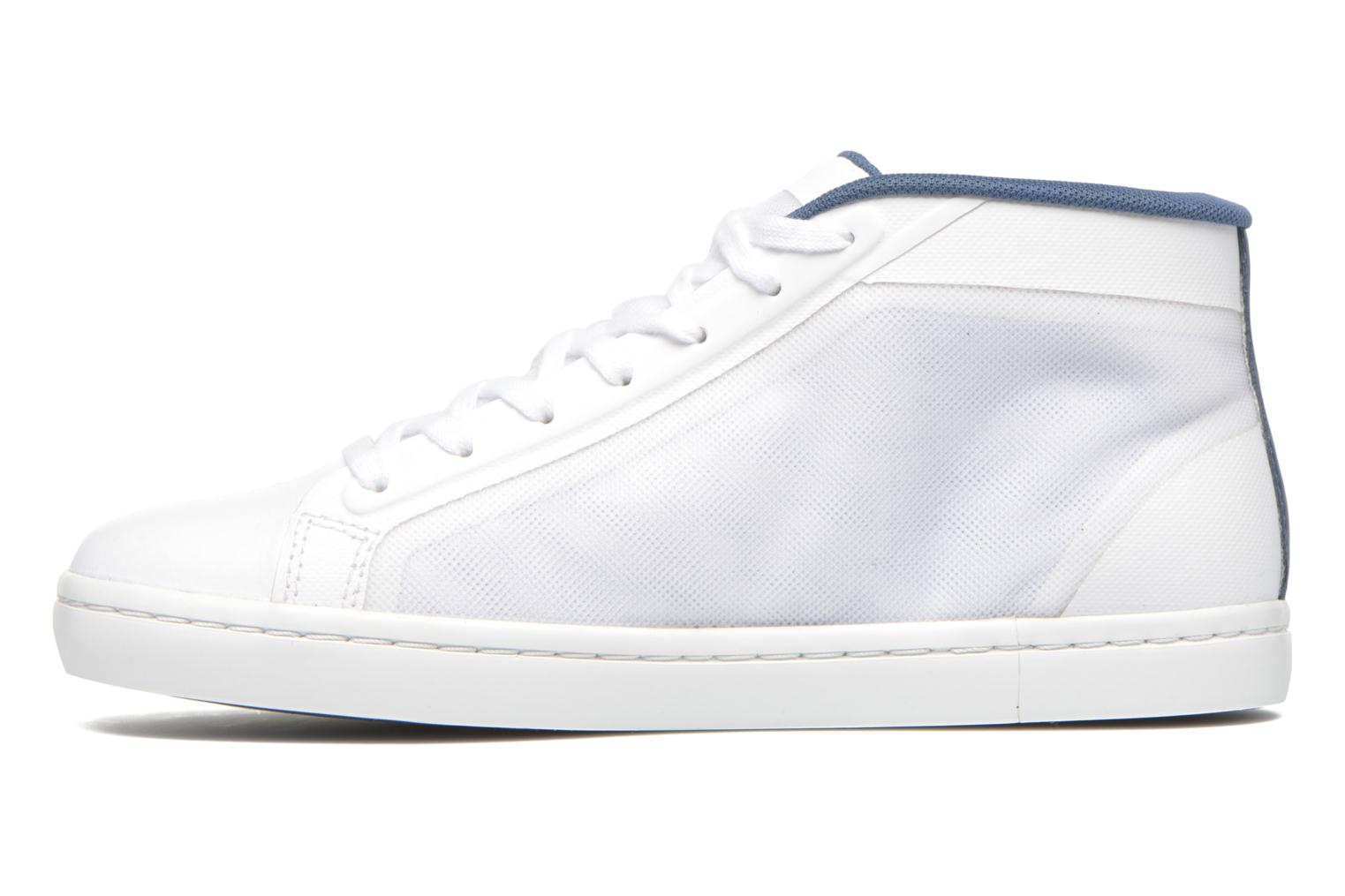 Baskets Lacoste Straightset Chukka 316 2 Blanc vue face