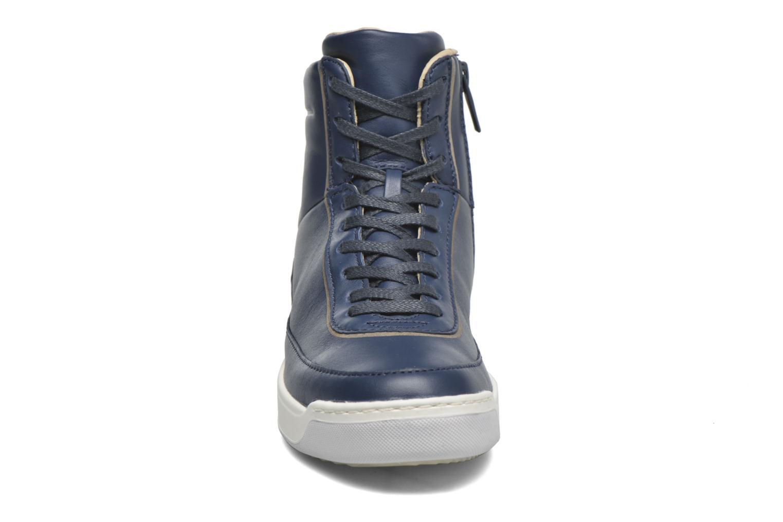 Sneaker Lacoste Explorateur Calf 316 1 blau schuhe getragen