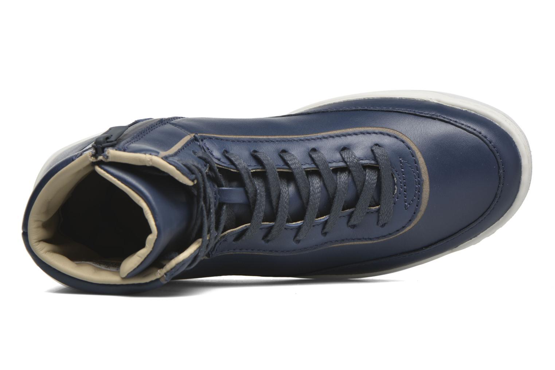 Sneaker Lacoste Explorateur Calf 316 1 blau ansicht von links