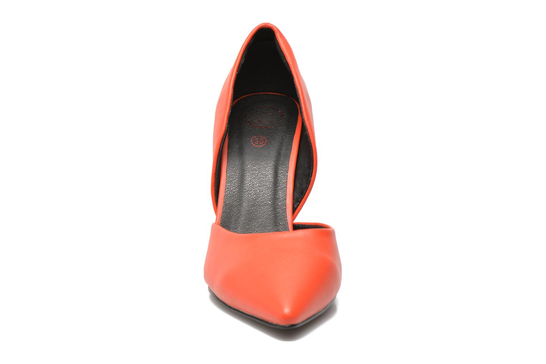 Escarpins Initiale Paris Smith Orange vue portées chaussures