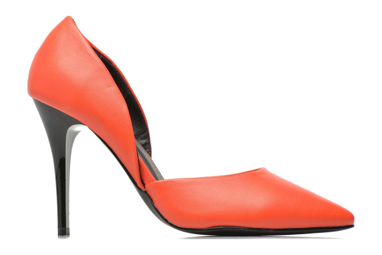Escarpins Initiale Paris Smith Orange vue derrière