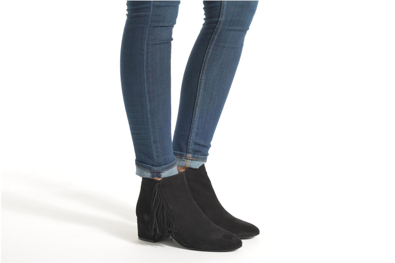 Bottines et boots Made by SARENZA See Ya Topanga #9 Noir vue bas / vue portée sac