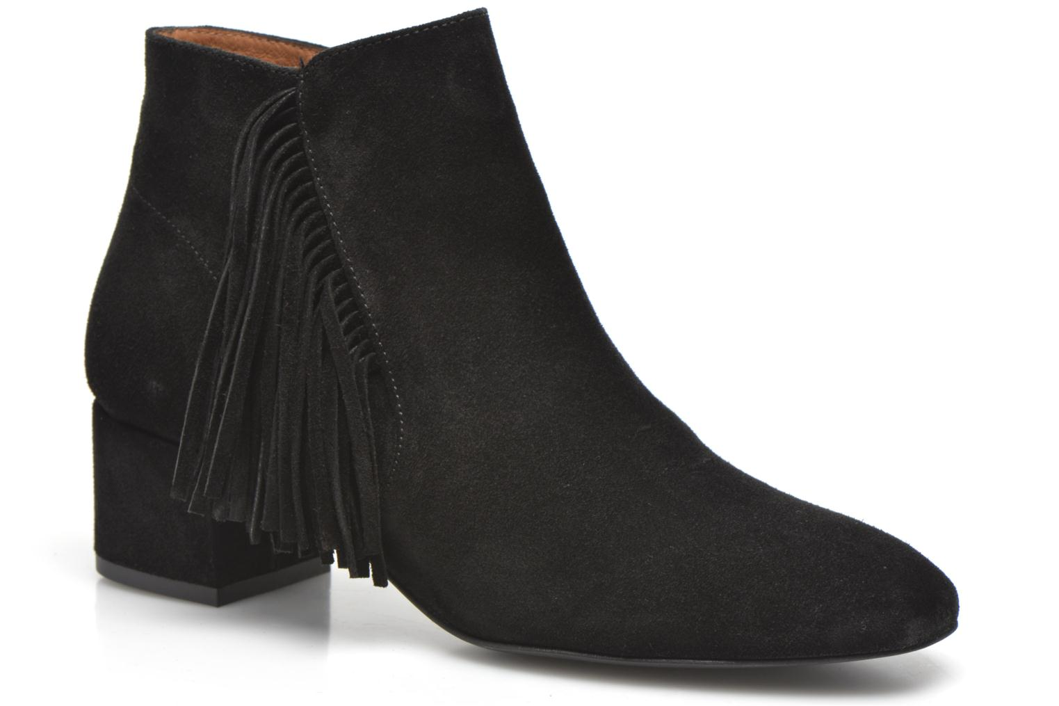 Ankle boots Made by SARENZA See Ya Topanga #9 Black view from the right