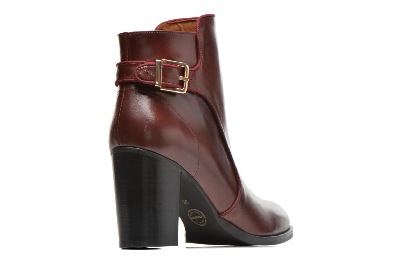 Bottines et boots Made by SARENZA See Ya Topanga #4 Bordeaux vue face
