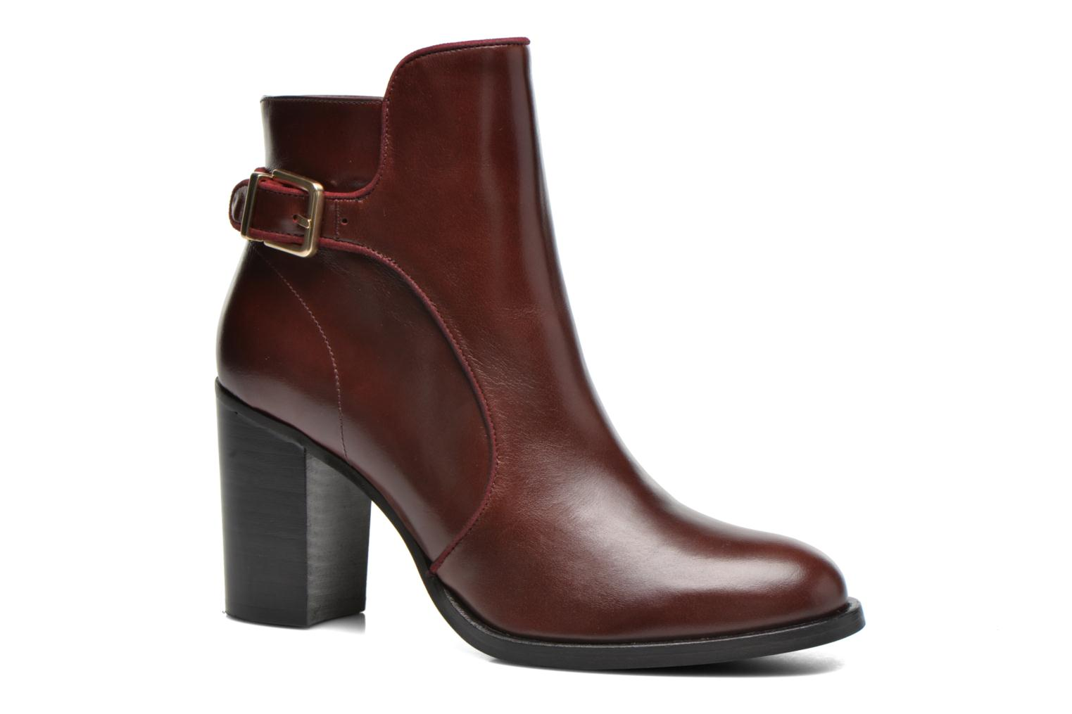 Bottines et boots Made by SARENZA See Ya Topanga #4 Bordeaux vue droite