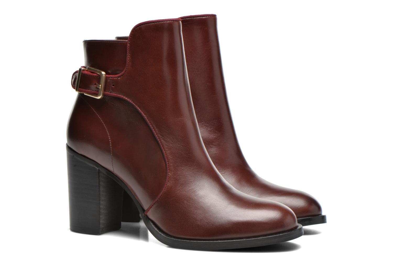 Bottines et boots Made by SARENZA See Ya Topanga #4 Bordeaux vue derrière