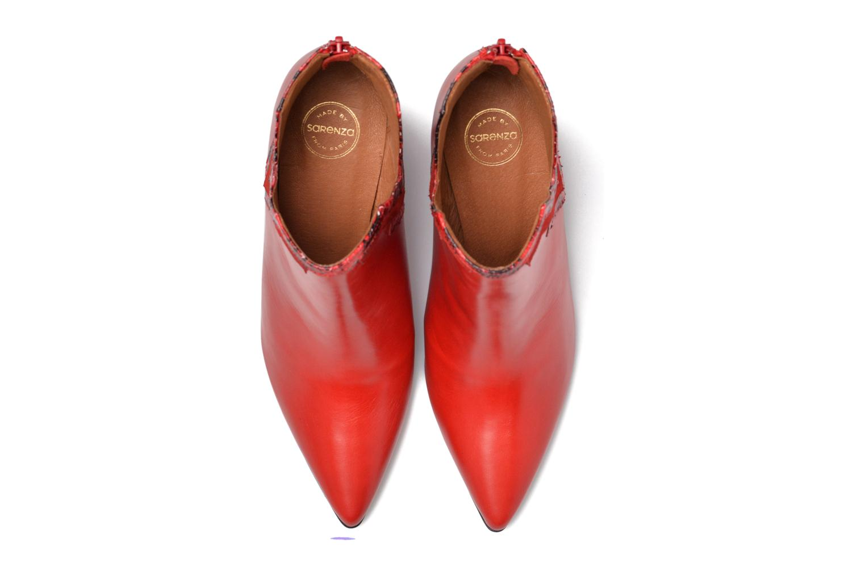 Stiefeletten & Boots Made by SARENZA Glamatomic #3 rot schuhe getragen