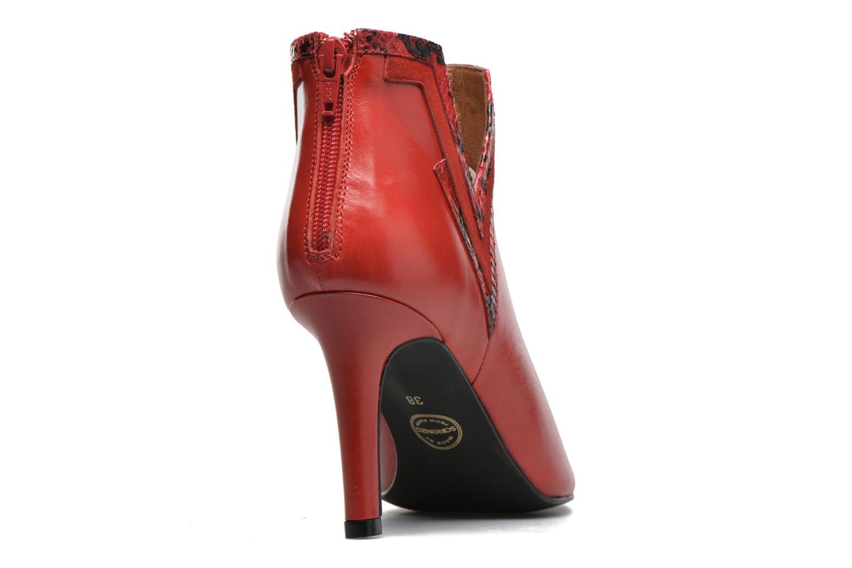 Stiefeletten & Boots Made by SARENZA Glamatomic #3 rot ansicht von vorne