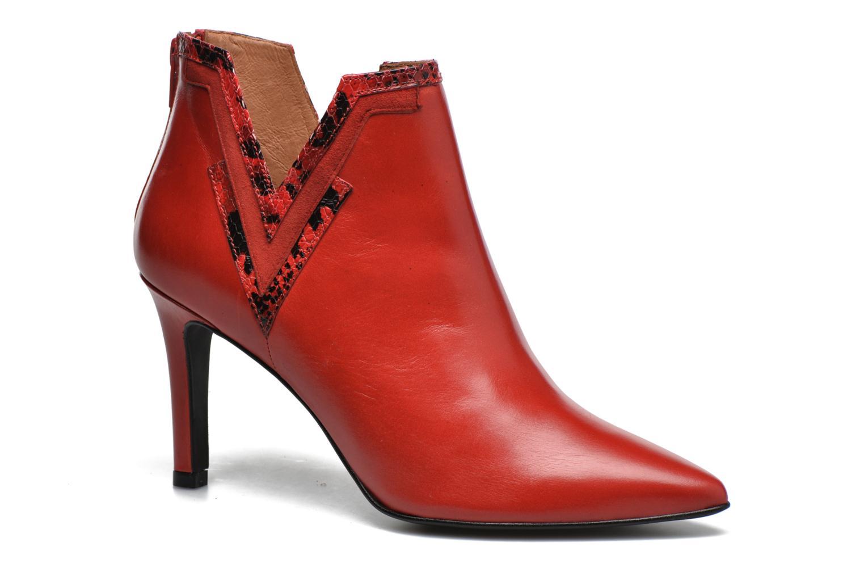Stiefeletten & Boots Made by SARENZA Glamatomic #3 rot ansicht von rechts