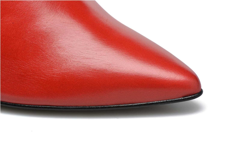 Stiefeletten & Boots Made by SARENZA Glamatomic #3 rot ansicht von links