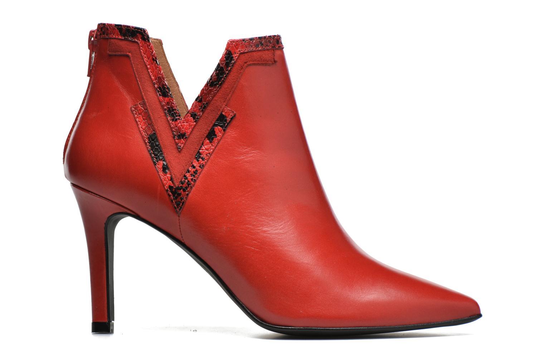 Bottines et boots Made by SARENZA Glamatomic #3 Rouge vue détail/paire