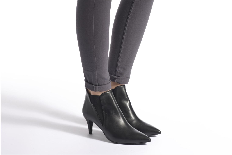 Stiefeletten & Boots Made by SARENZA Glamatomic #7 schwarz ansicht von unten / tasche getragen