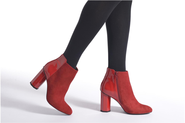 Bottines et boots Made by SARENZA West Mister #15 Noir vue bas / vue portée sac