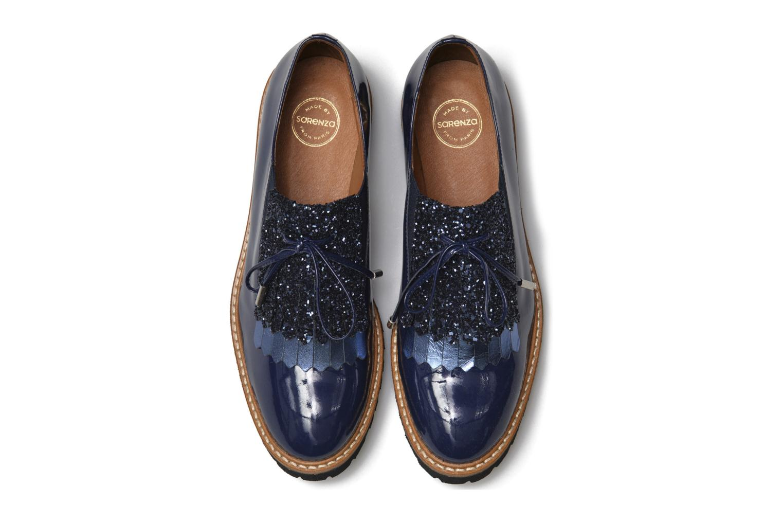 Mocassins Made by SARENZA Carioca Crew Chaussures à Lacets #3 Bleu vue portées chaussures