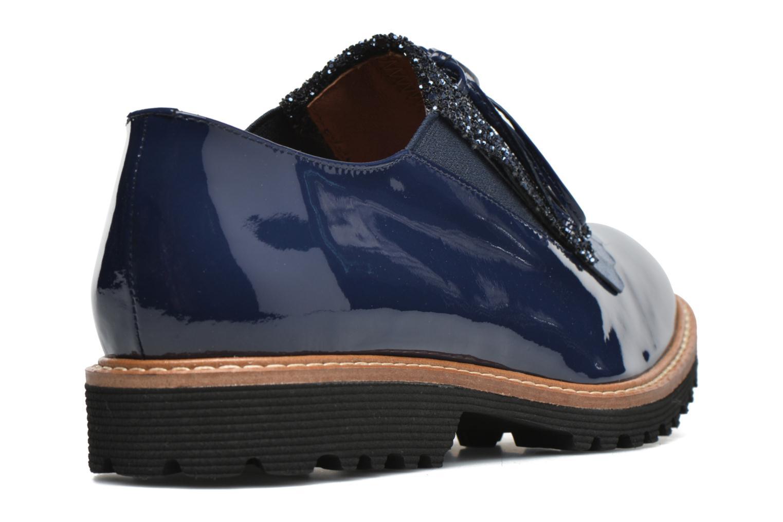 Mocassins Made by SARENZA Busy Girl Chaussures à Lacets #2 Bleu vue face
