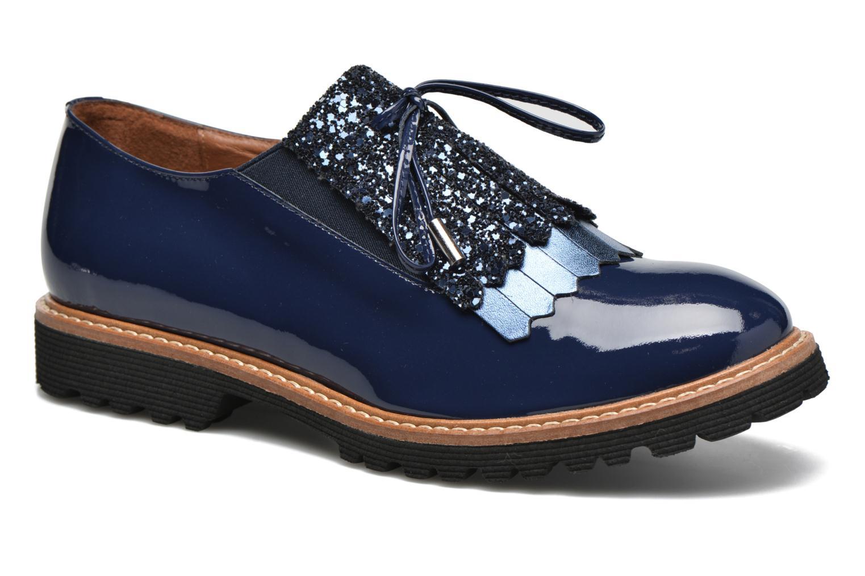 Mocassins Made by SARENZA Carioca Crew Chaussures à Lacets #3 Bleu vue droite