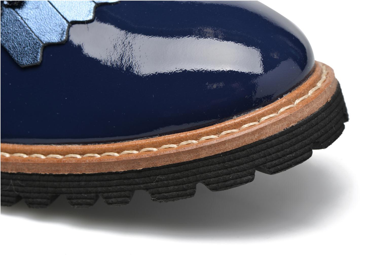 Mocassins Made by SARENZA Busy Girl Chaussures à Lacets #2 Bleu vue gauche