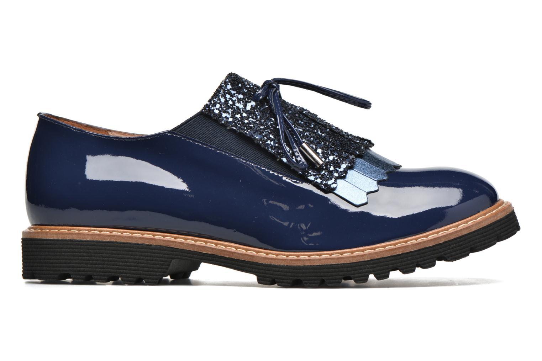 Mocassins Made by SARENZA Carioca Crew Chaussures à Lacets #3 Bleu vue détail/paire