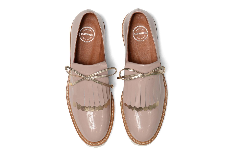 Carioca Crew Chaussures à Lacets #3 Verniz nude + galami or