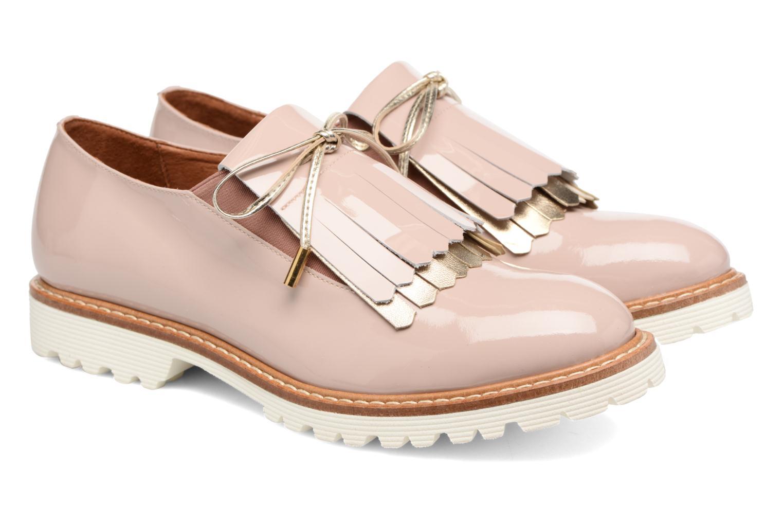 Mocassins Made by SARENZA Busy Girl Chaussures à Lacets #2 Beige vue derrière