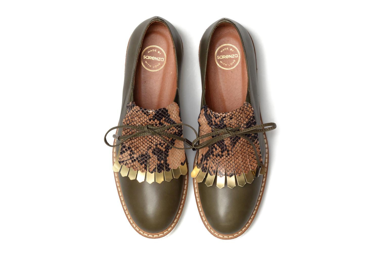 Mocassins Made by SARENZA Carioca Crew Chaussures à Lacets #3 Vert vue portées chaussures