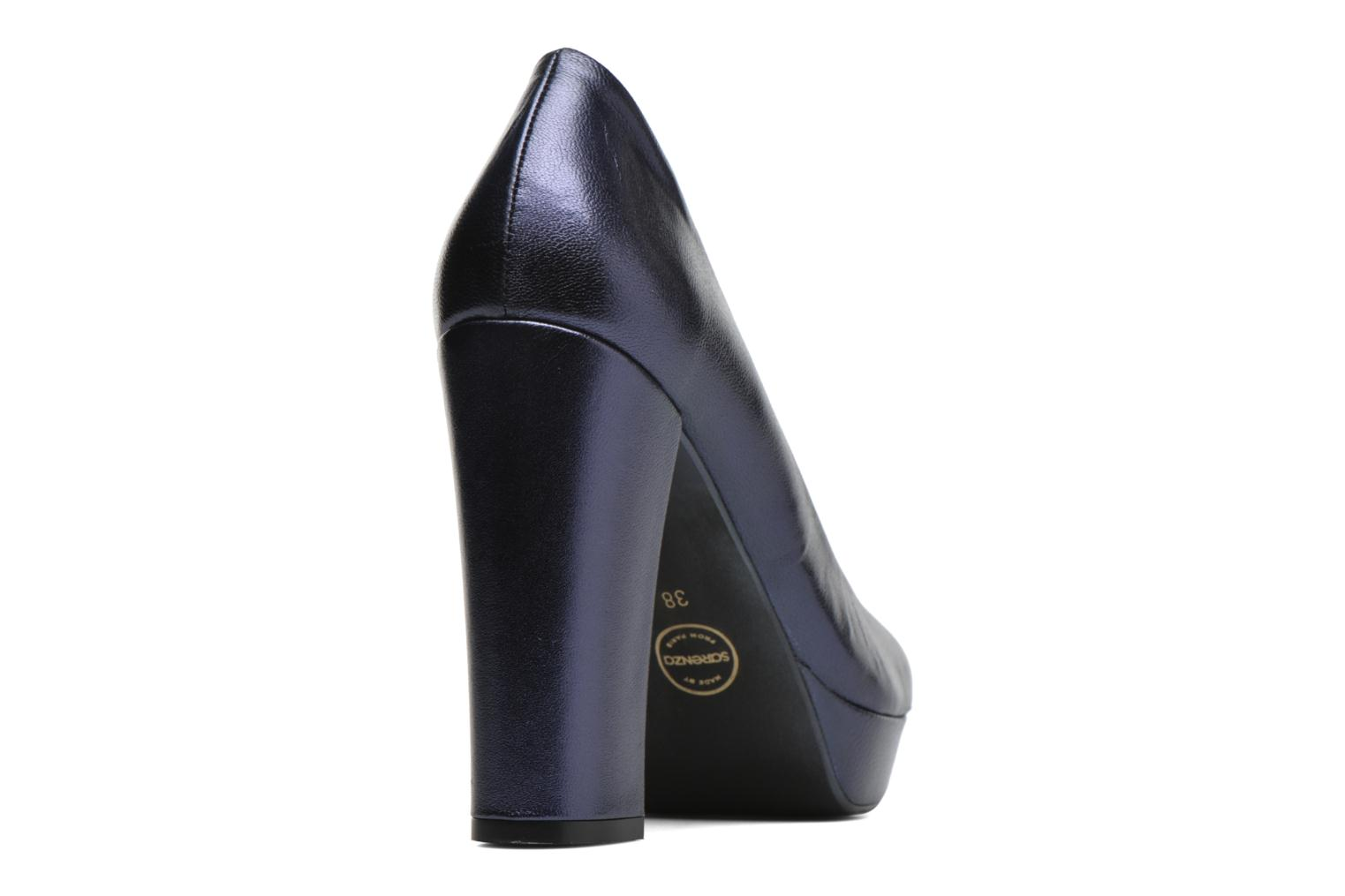 Pumps Made by SARENZA Glossy Cindy #7 Blauw voorkant